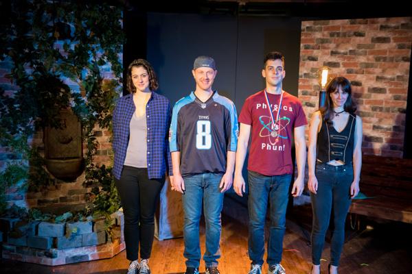 Simone Serra, Scott Brieden, Blake Merriman and Amanda Jones. Photo by Justin Chauncey Photography.