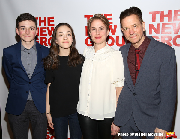 Buster Whaley, Tallulah Whaley, Heather Whaley and Frank Whaley