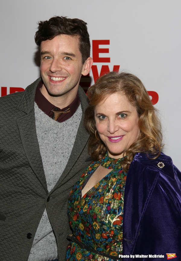 Michael Urie and Claudia Shear