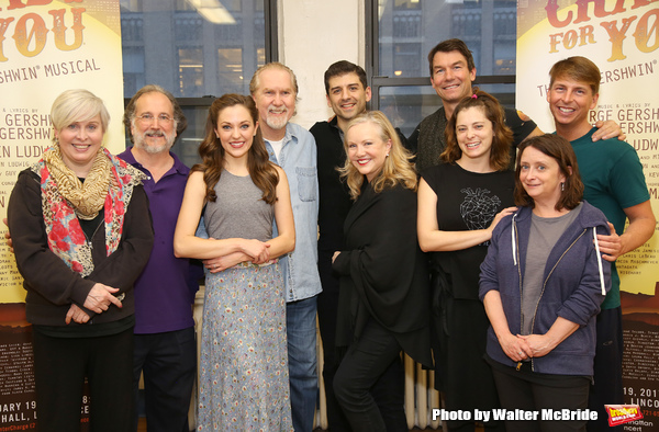 Nancy Opel, Mark Linn-Baker, Laura Osnes, Harry Groener, Tony Yazbeck, Susan Stroman, Jerry O'Connell, Rachel Bloom, Rachel Dratch and Jack McBrayer