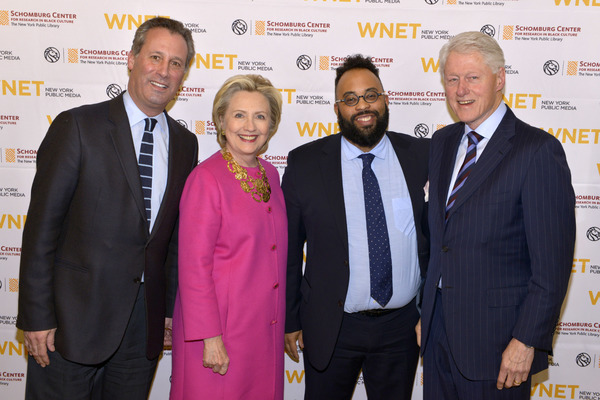 Photos: Hillary Clinton and Bill Clinton Attend PBS's MAYA ANGELOU: AND I STILL RISE Preview in NYC