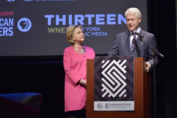 Hillary Clinton and Bill Clinton Photo