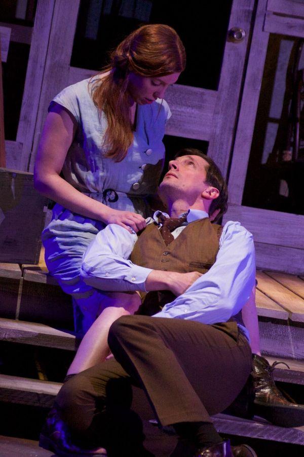 Elise Hudson as Josie Hogan, Anthony Marble as Jim Tyrone