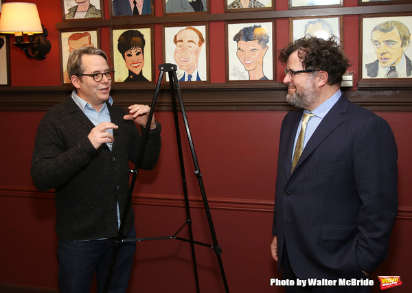 Matthew Broderick and Kenneth Lonergan