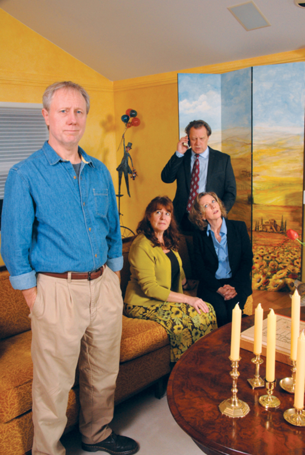 David Sikking, Marilyn Stacey, Don Alder and Sarah Lucht