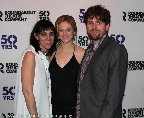Leigh Silverman, Marin Ireland and Martín Zimmerman