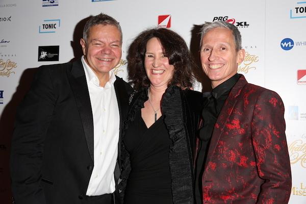 Anthony Drewe, Rachel Kavanaugh and George Stiles Photo