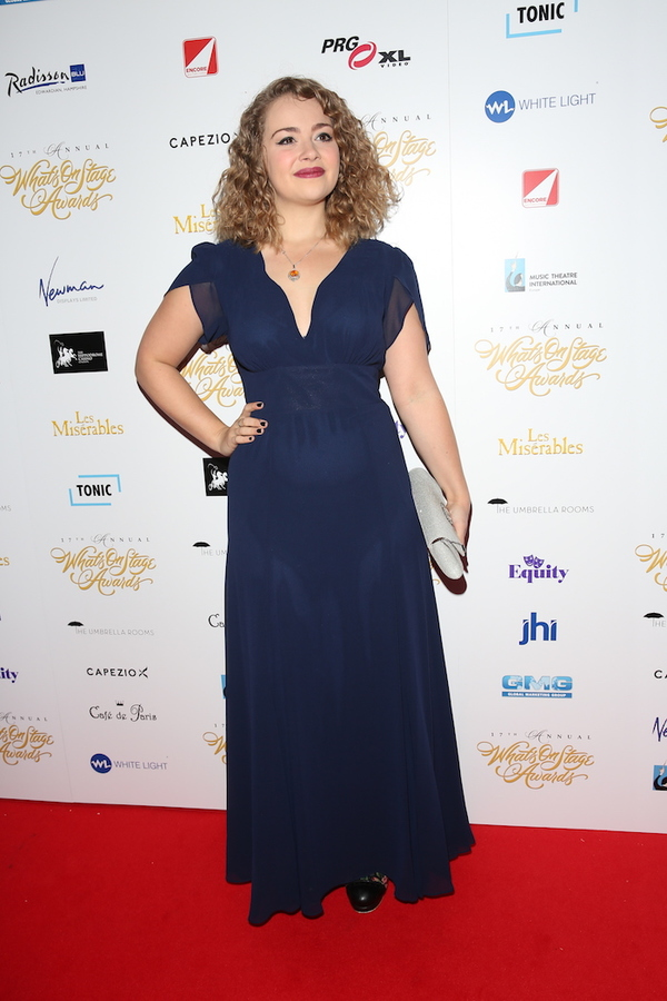 Photo Flash: Amber Riley, Billie Piper & More At WhatsOnStage Awards