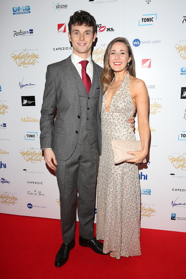 Charlie Stemp and Devon Elise-Johnson