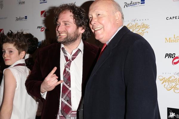 David Fynn and Julian Fellowes Photo
