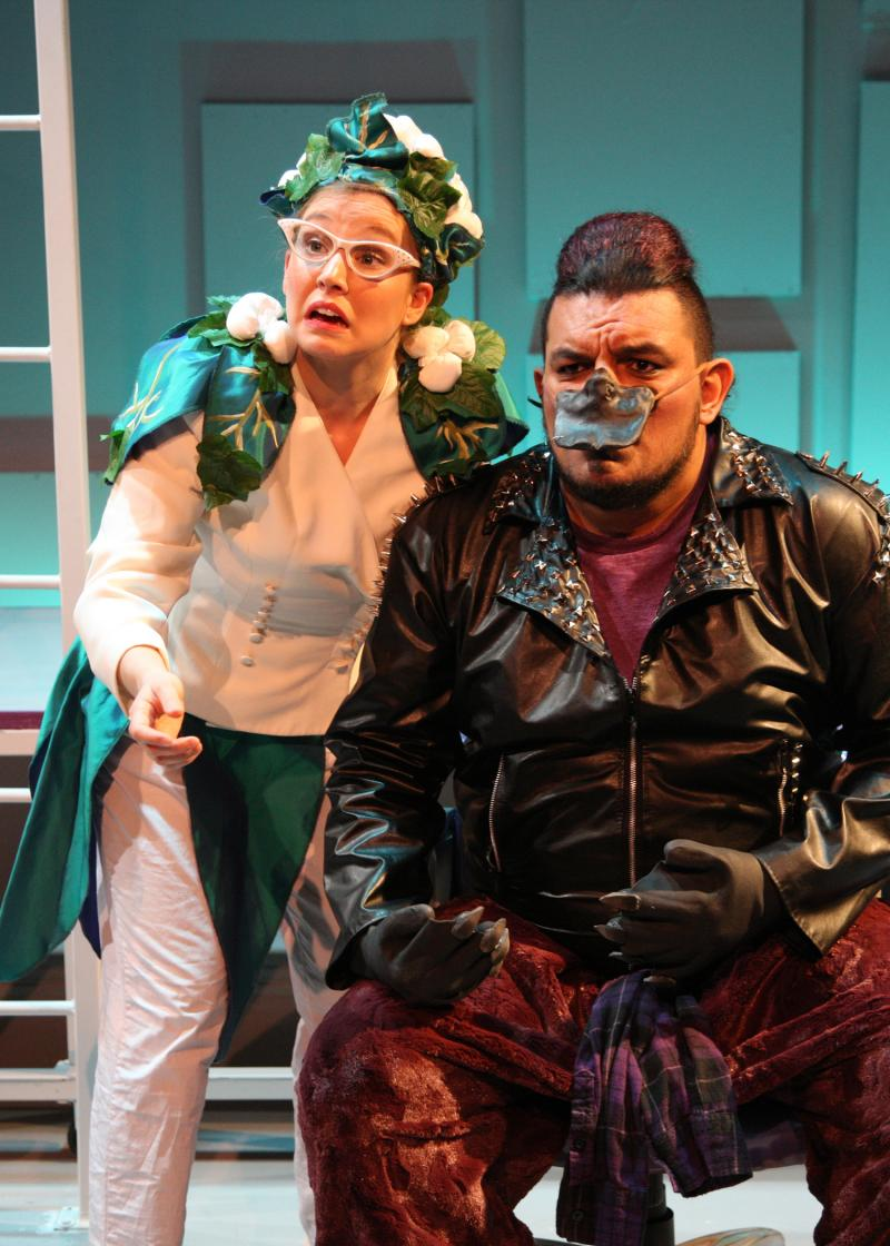 BWW Review: Chance Theater Amuses with New Video Game-Inspired Musical CLAUDIO QUEST