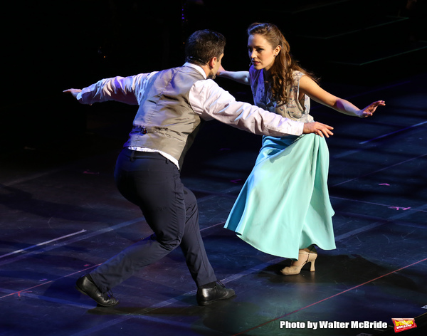 Tony Yazbeck and Laura Osnes
