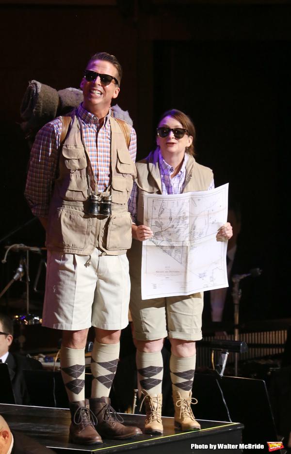 Jack McBrayer and Rachel Dratch  Photo