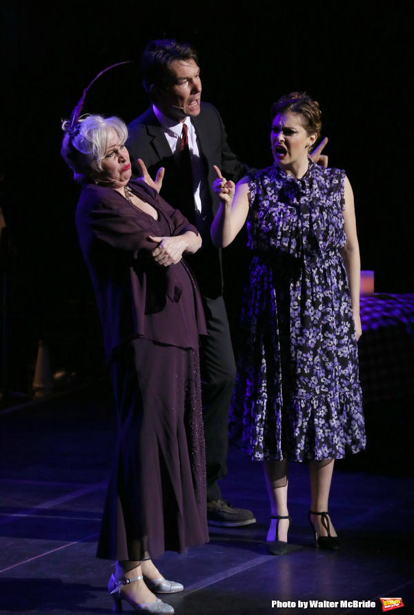 Nancy Opel, Jerry O'Connell and Rachel Bloom