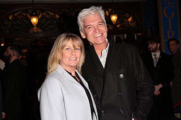 Stephanie Lowe and Philip Schofield Photo