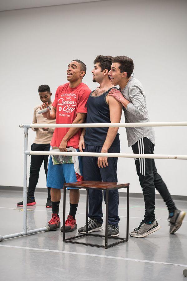 Jordan J. Adams, Jonathan Mousse, and Matthew Oster Photo
