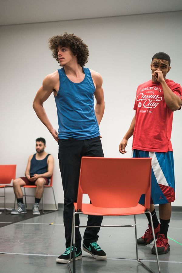 Photo Flash: In Rehearsal with IN THE HEIGHTS at Axelrod Performing Arts Center
