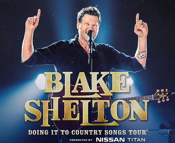 Nissan Teams with Blake Shelton for Nationwide 'Doing It To Country Songs' Tour