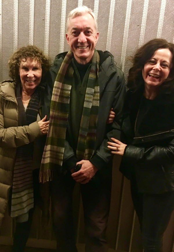 RHEA PERLMAN, SEAN GORMLEY and Director GERALDINE HUGHES