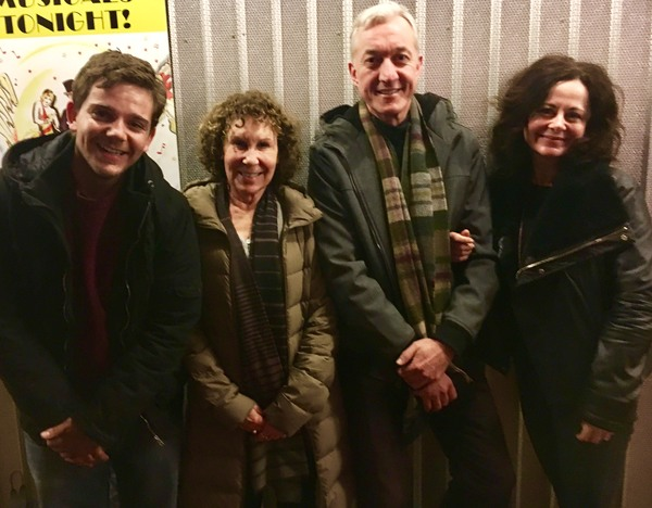 RUPERT SIMONIAN, RHEA PERLMAN, SEAN GORMLEY and GERALDINE HUGHES