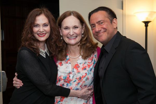 Lesley Ann Warren, Beth Grant, Eugene Pack