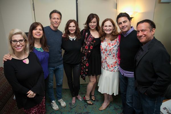 Rebecca Lane, Dayle Reyfel, Steven Weber, Lesley Ann Warren, Jennifer Tilly, Beth Gra Photo