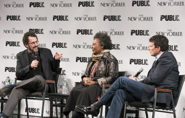 Tony Kushner, Claudia Rankine and David Remnick