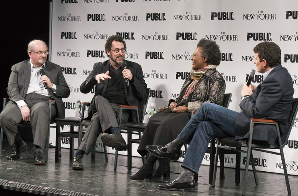 Salman Rushdie, Tony Kushner, Claudia Rankine and David Remnick