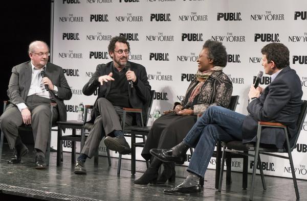 Salman Rushdie, Tony Kushner, Claudia Rankine and David Remnick