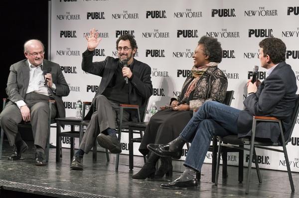 Tony Kushner, Claudia Rankine and David Remnick