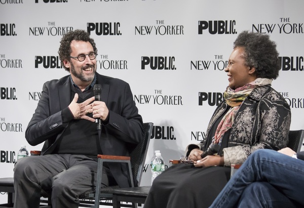 Tony Kushner and Claudia Rankine