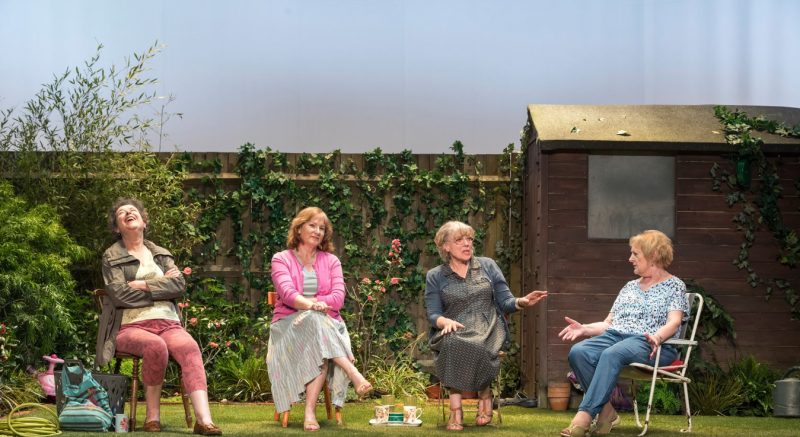 BWW Review:  Caryl Churchill's ESCAPED ALONE Yearns For a Post-Apocalyptic Return To Normalcy