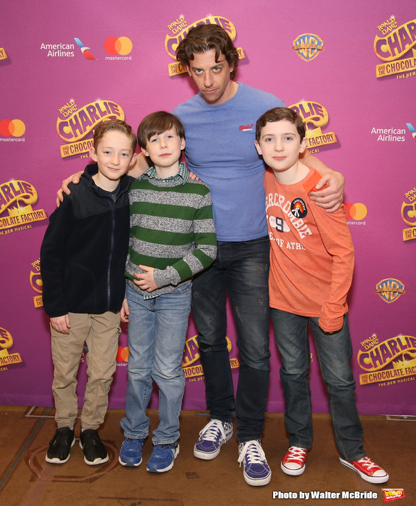 Ryan Foust, Jake Ryan Flynn, Christian Borle and Ryan Sell Photo
