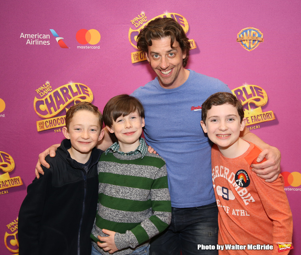 Ryan Foust, Jake Ryan Flynn, Christian Borle and Ryan Sell