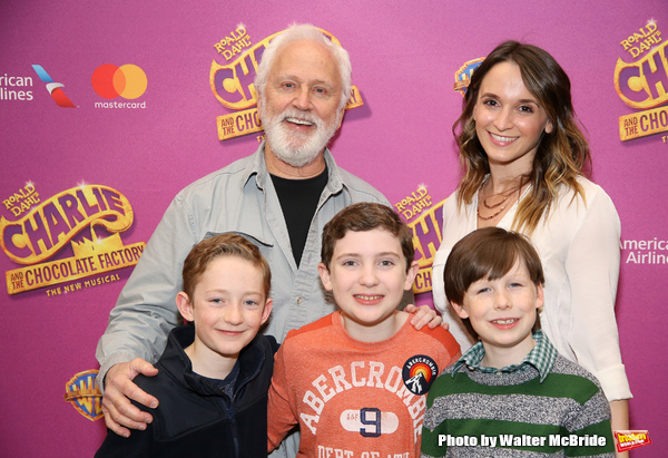 John Rubinstein, Emily Padgett, Ryan Foust, Ryan Sell and Jake Ryan Flynn