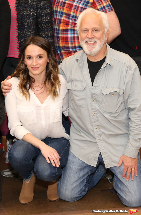 Emily Padgett and John Rubinstein