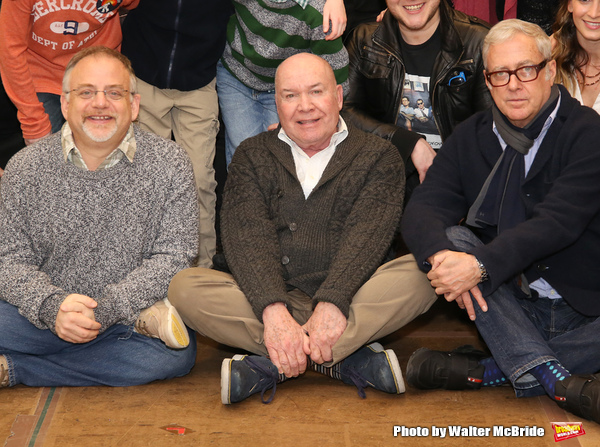 Marc Shaiman, Jack O'Brien and Scott Wittman Photo