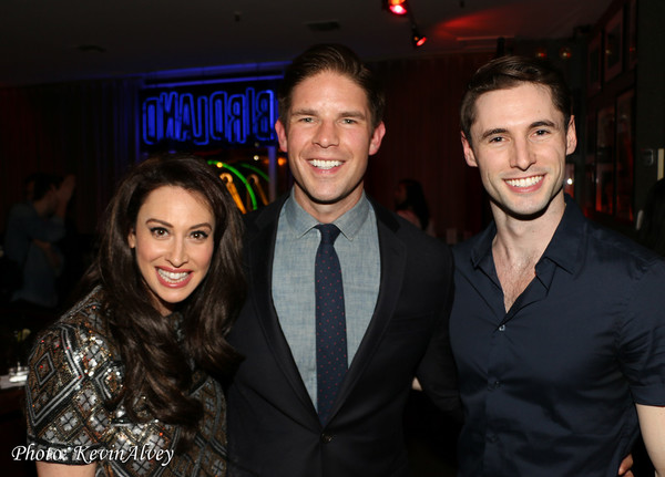 Lesli Margherita, Frank DiLella and Mike Schwitter