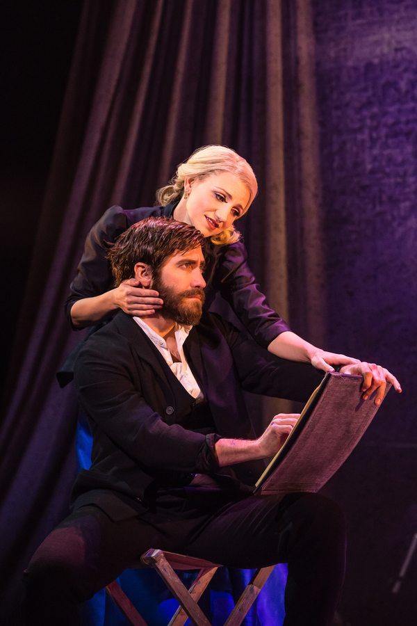 Sunday in the Park with George Production Photo - Annaleigh Ashford and Jake Gyllenhaal