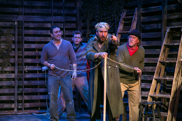 Photo Flash: First Look at PETER AND THE STARCATCHER at TheatreWorks New Milford