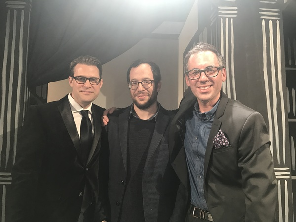 Luke Bateman, Adam Lenson, Michael Conley