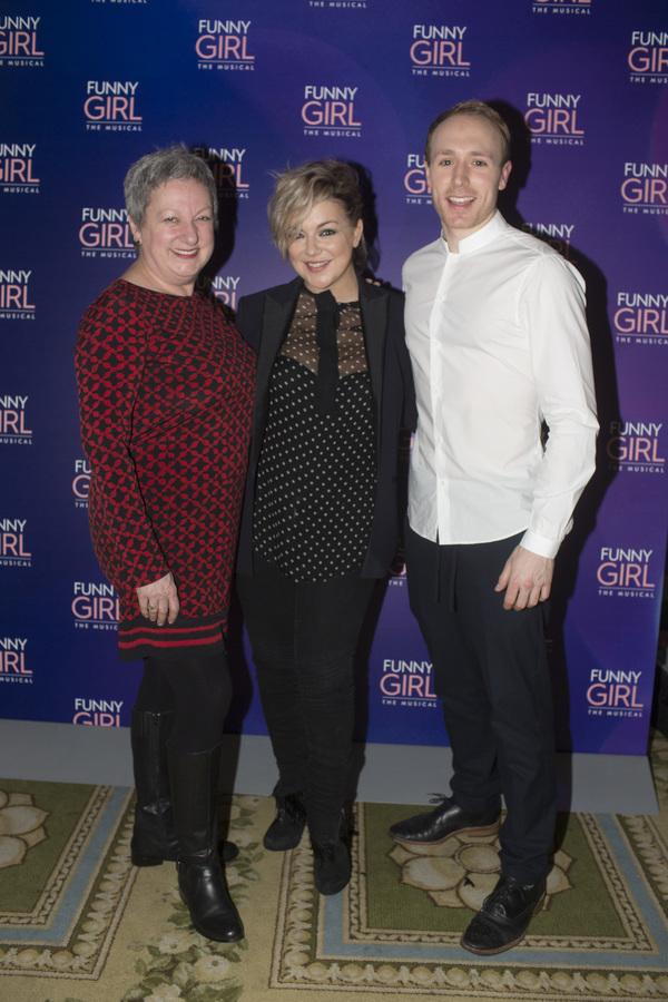 Rachel Izen, Sheridan Smith, and Joshua Lay Photo