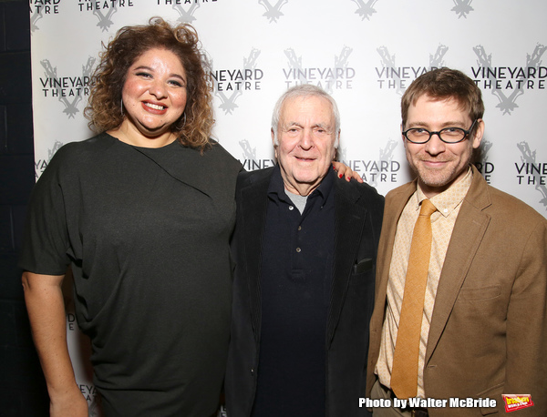 Photo Coverage: John Kander and Greg Pierce's KID VICTORY Celebrates Opening Night at the Vineyard Theatre!