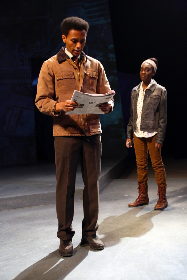 Photo Flash: Connecticut Repertory Theatre Begins Performances of WAITING FOR LEFTY and SEVERANCE