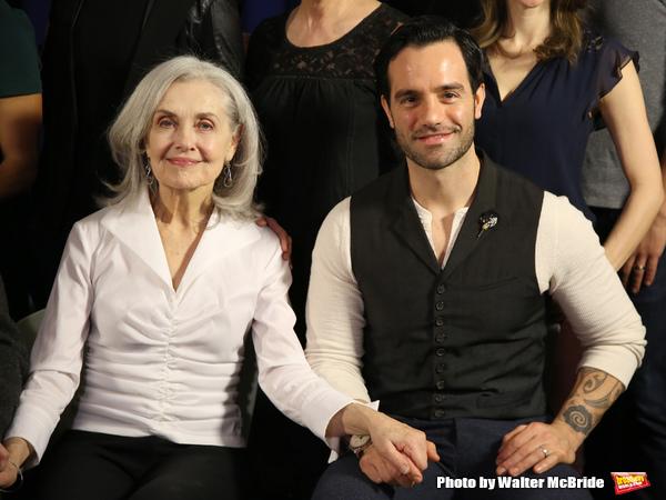 Mary Beth Peil and Ramin Karimloo