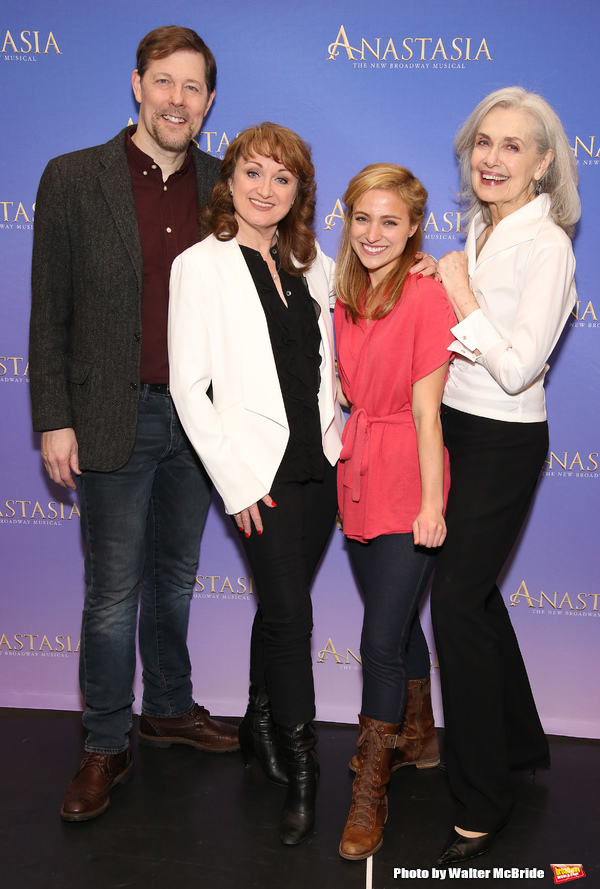 Photo Coverage: Meet the Royal (?), Russian Cast of ANASTASIA on Broadway!