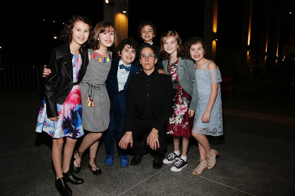 Sofia Trimarchi, Alessandra Baldacchino, Lennon Nate Hammond, graphic novelist Alison Bechdel, Pierson Salvador, Carly Gold and Chloe Trimarchi