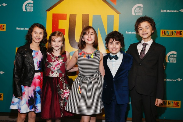 Sofia Trimarchi, Carly Gold, Alessandra Baldacchino, Lennon Nate Hammond and Pierson Salvador