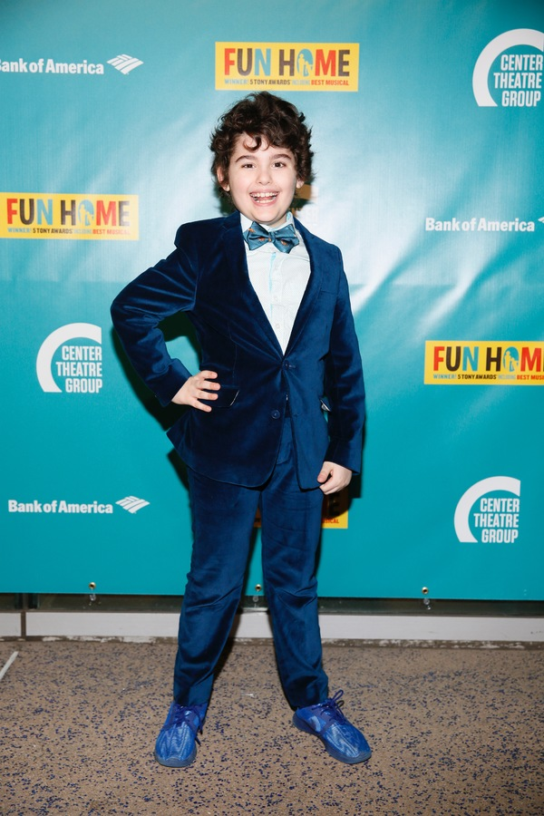 Photo Flash: Kate Shindle, Alison Bechdel and More Celebrate FUN HOME's Opening at the Ahmanson