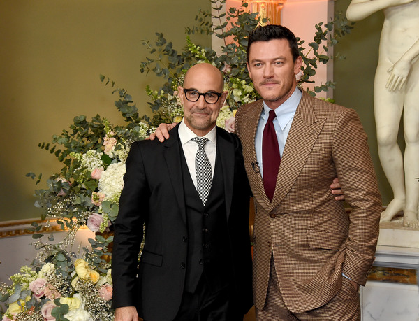 Stanley Tucci and Luke Evans